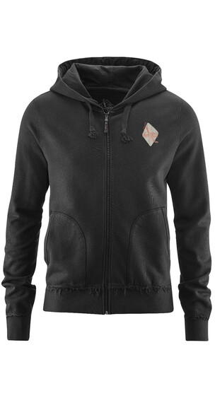 Red Chili Mirage Zip Hoodie Men Black